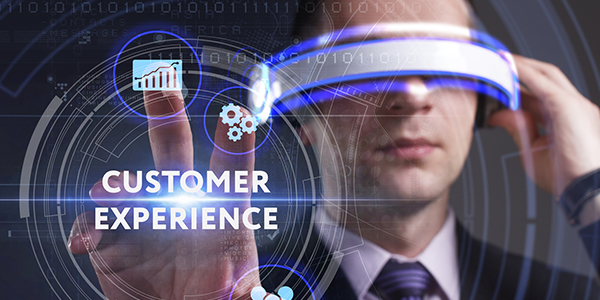 The AI-enhances customer experience